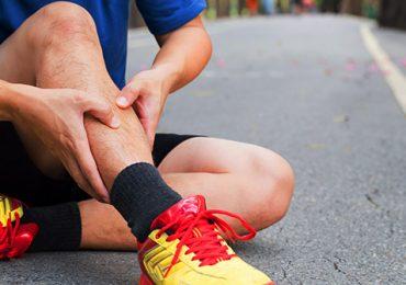 گرفتگی عضلات ساق پا یا شین اسپلینت