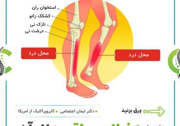 درد جلوی ساق پا و علل آن